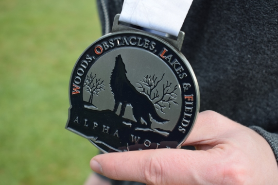 The Alpha award for this year a pretty awesome medal.