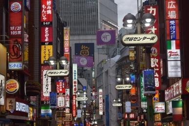 Neons - Tokyo, Japan